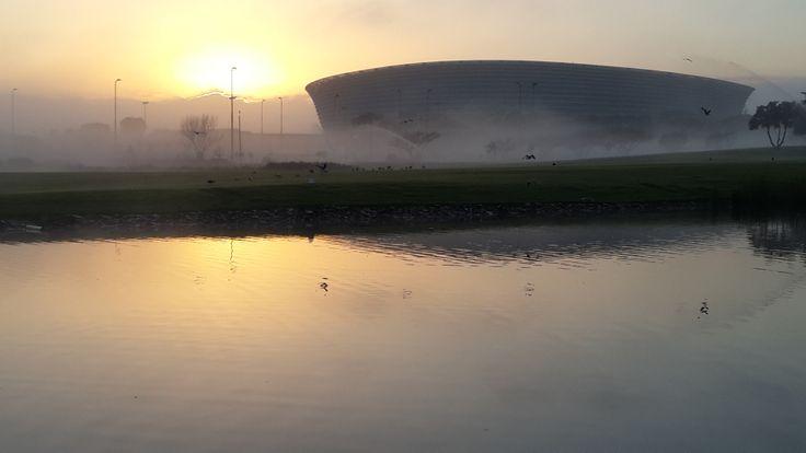 2010 Soccer Stadium Sunrise