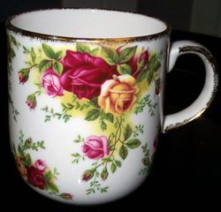 More Royal Albert...One of my favorite patterns in my collection.