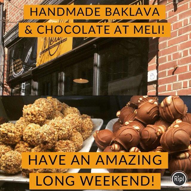 Best Baklava Chocolate & desserts in Toronto!