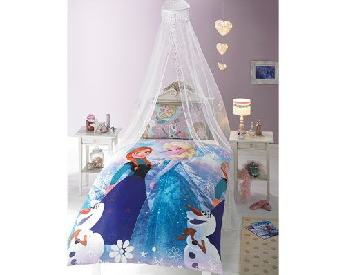 Frozen Crystal Duvet Set. ( Canapy Sold Seperate)