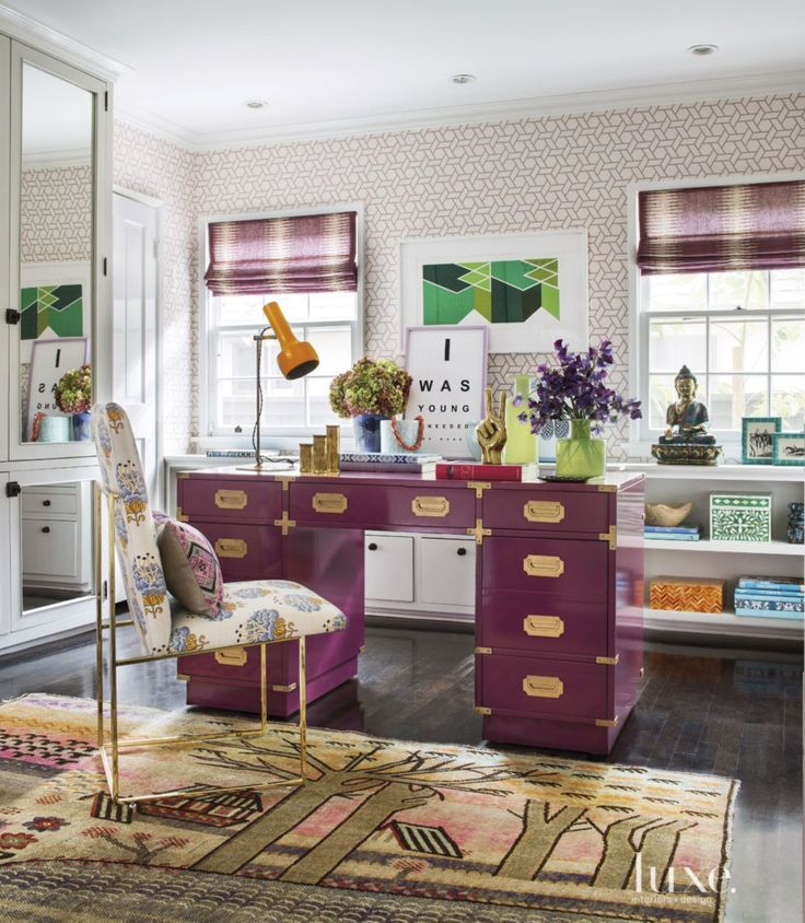 Eclectic White Breakfast Bay Window Nook | LuxeSource | Luxe Magazine - The Luxury Home Redefined