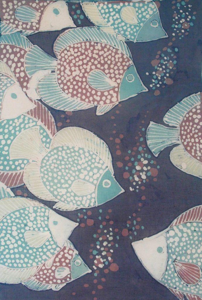Batik ryby