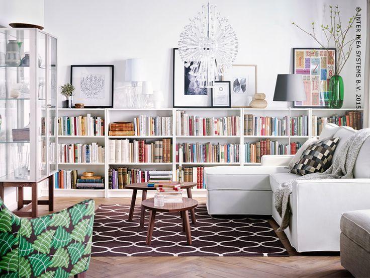 IKEA idee: Overdag bibliotheek, 's nachts logeerkamer - IKEA FAMILY