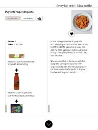 "I saw this in ""Puy lentil ragu with pesto"" in Waitrose Food January 2017."