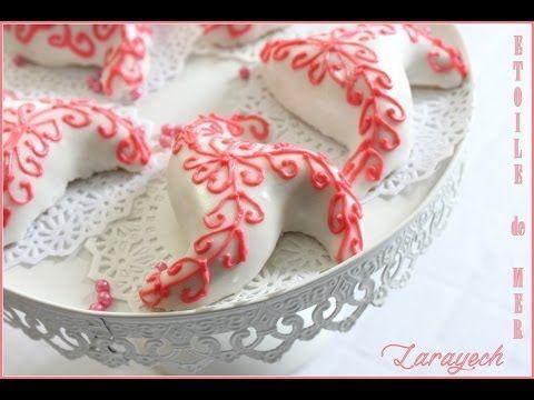 Comment réaliser Larayech Etoile de mer / Algerian Pastry  Larayech Starfish