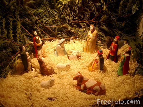 I absolutely love nativities!