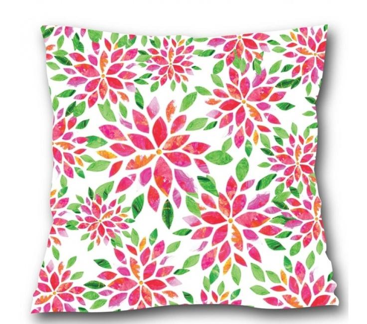 Plumeria Cushion