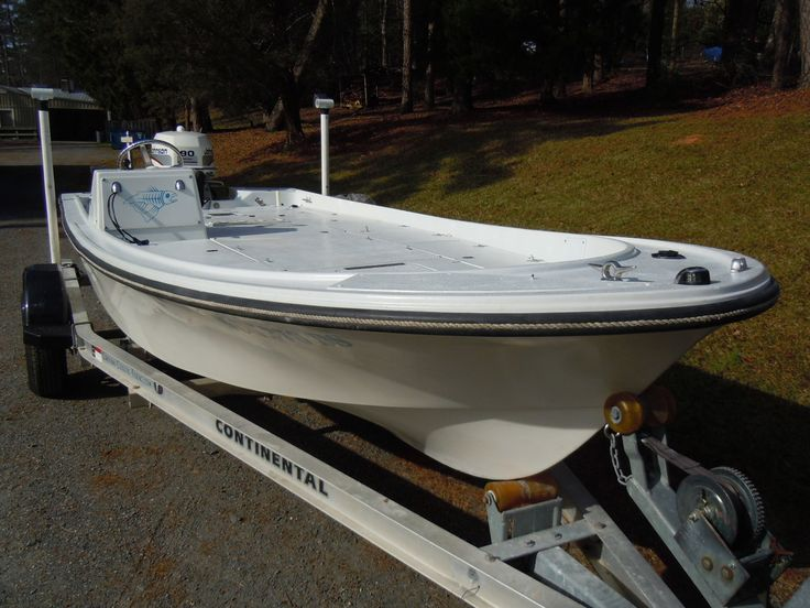 1979 Mako 18ft Backwater Flats Boat...Who knows how many were made? - The Hull Truth - Boating and Fishing Forum