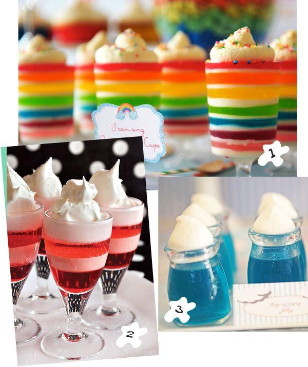Preciosas gelatinas, via blog.fiestafacil.com / Colourful jellies, via blog.fiestafacil.com
