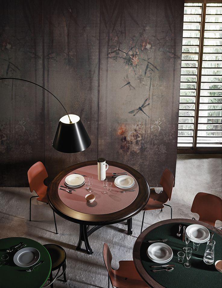 Libellula - Wall&decò wallpaper collection 2016 design Lorenzo De Grandis