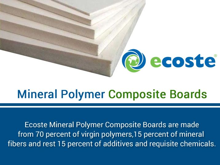 Give your ‪#‎Home‬ Excellent Look with the help of ‪#‎MPC‬ Boards (Mineral Polymer Composite Boards) - http://www.ecoste.in/mpc-board/