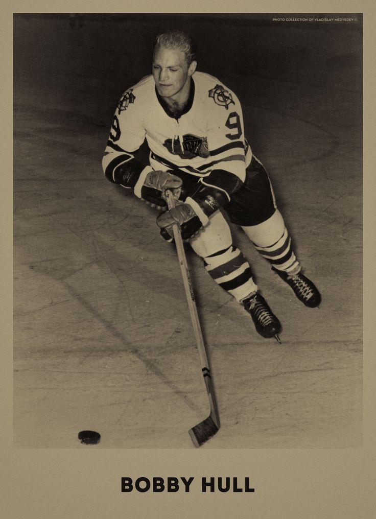 Bobby Hull #hockey #nhl