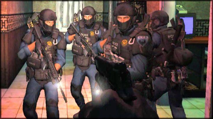 Realistic SWAT raid. SWAT team simulator. SWAT 4. New gameplay in 2017. ...
