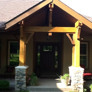 17 Best Images About Outdoor Entry With Cedar Beams On