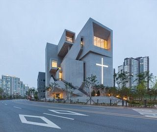 The Closest Church in Gimpo-si, Gyeonggi-do, South Korea; designed by Heesoo Kwak [1190x1000] [OS] : ArchitecturePorn