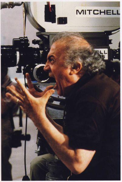 Federico Fellini | 1979 | by the 'first paparazzo' Tazio Secchiaroli (Rizzoli 2003)