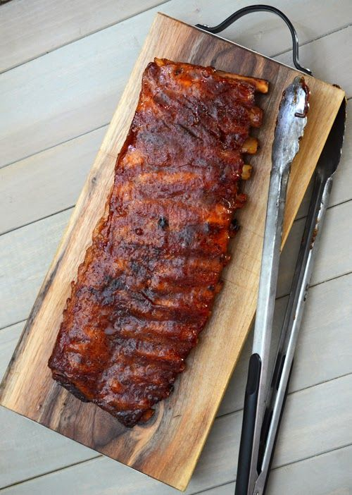 competition style pork ribs