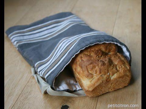 Nouveau tutoriel : fabriquer un sac à pain (+ vidéo)   recyclage   Blog de Petit Citron