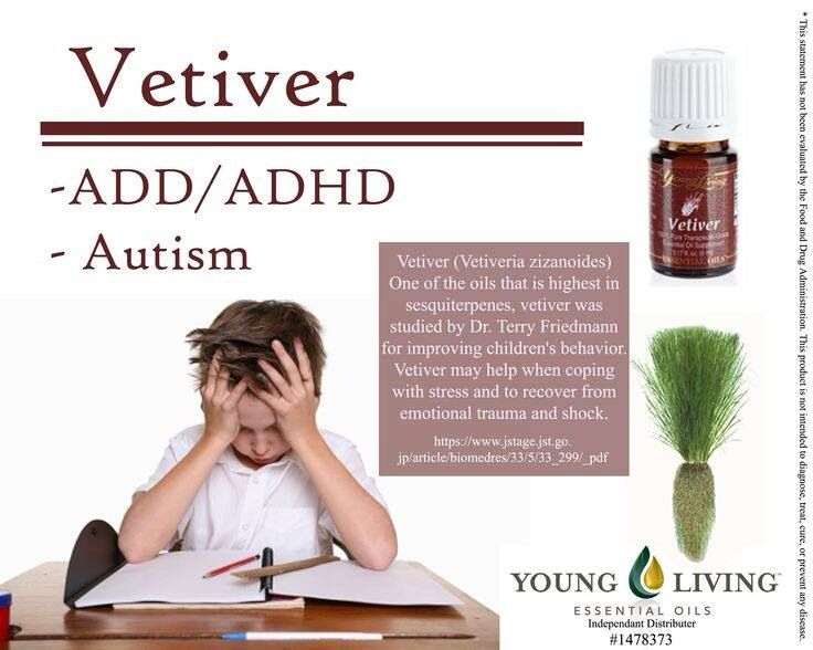 living with add book. vetiver eo and add/adhd living with add book s