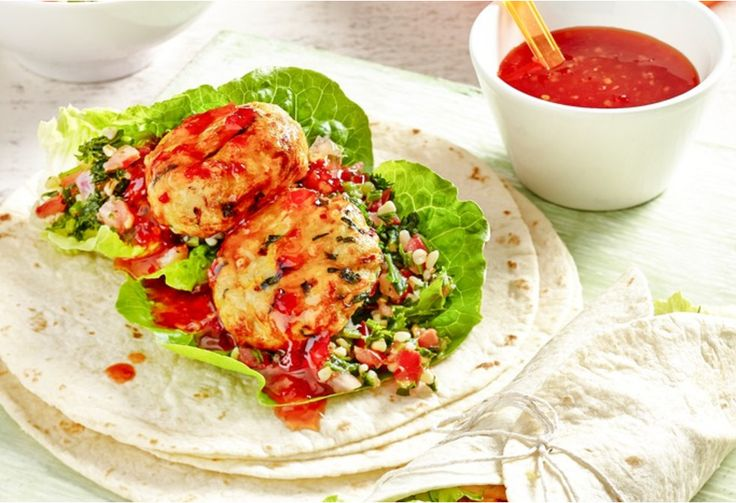 You'll get wrapped up in how delicious these are! Chicken and vegetable wraps…
