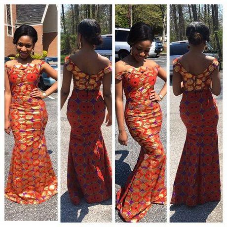 Robe africaine de soirée