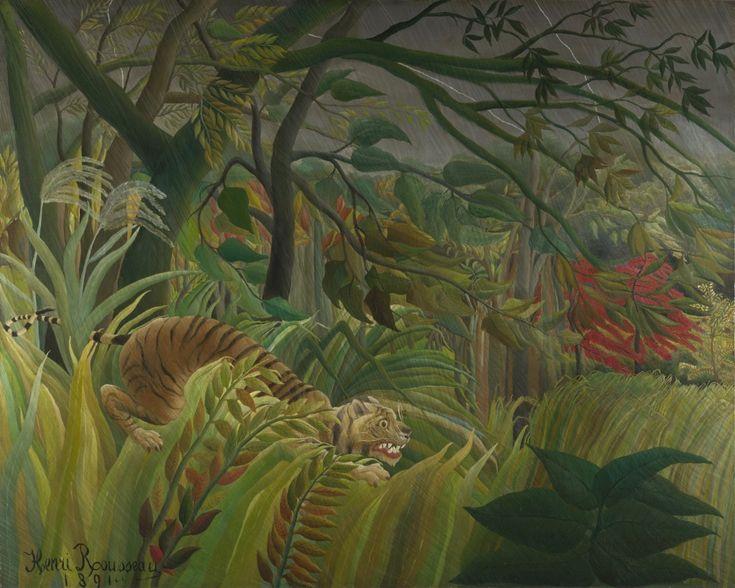 Sorpresa, 1891 - Henri Rousseau,