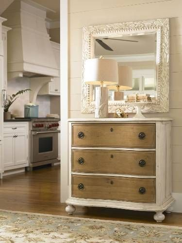 love this paula deen line...maybe for under the tv with a lot of storage..love the two tone look.