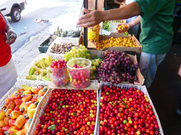 Brazilian fruits (frutas brasileiras). Itapoã/Salvador/Bahia/Brasil.