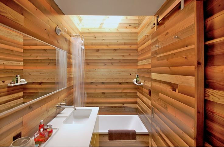 2) Soaking Tubs Are Important in Japanese Interior Design Elements of water are imperative in the Japanese home. Japanese soaking tubs are small, deep tubs that usually have some sort of bench seat.  Turn your bathroom into an enlightened escape by adding one of these soaking-style tubs.  Read more: http://freshome.com/2014/07/29/10-ways-to-add-japanese-style-to-your-interior-design/#ixzz390SA389g