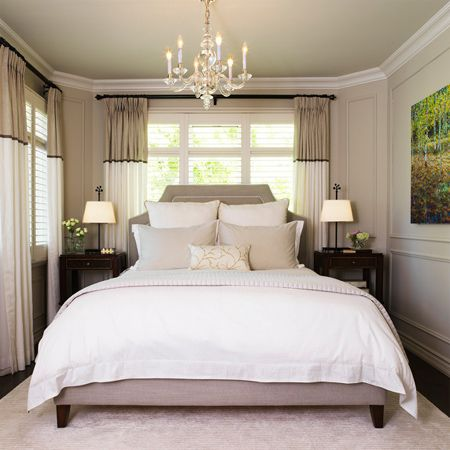not every home has the luxury of a large master bedroom and in a more small
