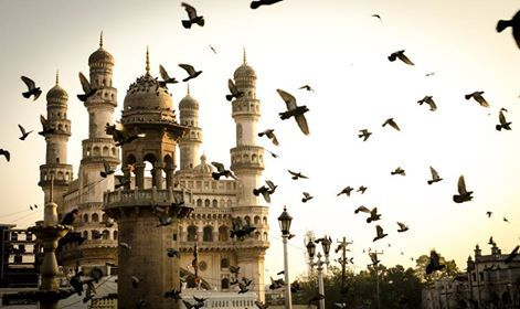 Good morning from Hyderabad's Charminar! It is the most famous building of Hyderabad and also one of the most famous buildings in India. #IncredibleIndia