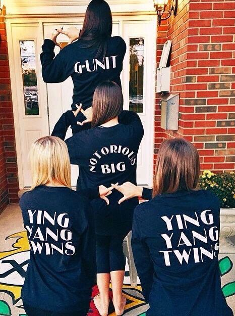 Sorority family shirts