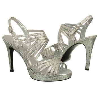 Papell Studio Women's Alexis Dress Sandals (Silver) - 5.0 M | 50% OFF