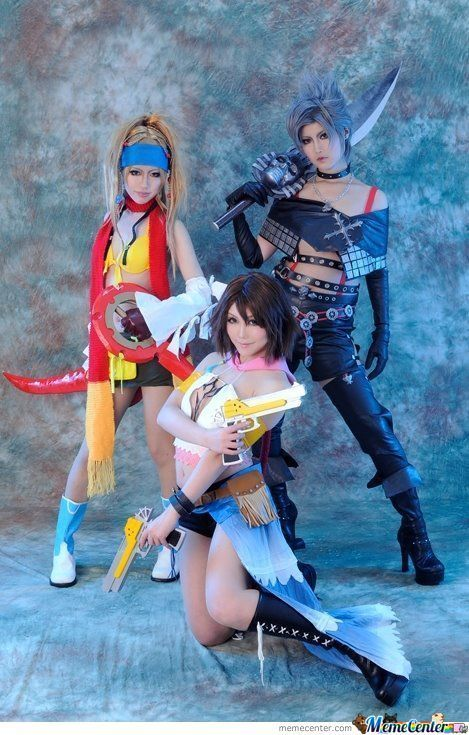 final fantasy cosplay | Final Fantasy X-2 Cosplay - Meme Center