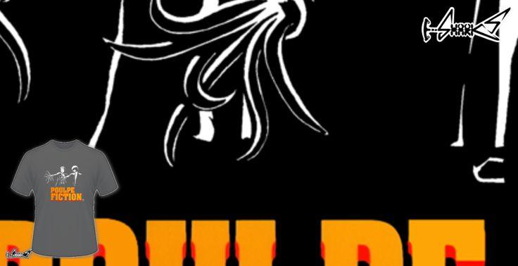 T-shirts - Design: Poulpe Fiction - by: Super Poulpe