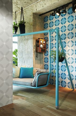 As Creations / Werner Aisslinger. Behang verkrijgbaar bij Deco Home Bos in Boxmeer. www.decohomebos.nl