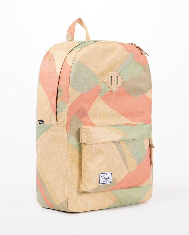 Neutral Portal Heritage Backpack by Herschel. The Heritage Backpack was born from the Herschel signature vintage look, features a full canvas body and detailing, with pastel colors and spacious comaprtment. The durable lightweight fabric and numerous features creates an ideal daily backpack. http://www.zocko.com/z/JJ6Zy