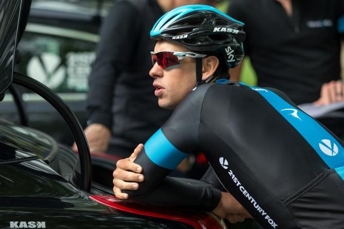 Gallery: Froome leads Team Sky reconnaissance over Tour de France stages - Team Sky's number two Richie Porte