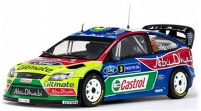 Check out Other Car Albums @ https://www.facebook.com/118ScaleDiecastCars 1/18 FORD FOCUS RS WRC ABU DHABI #3 M.HIRVONEN/J.LEHTINEN WINNER RALLY FINLAND 2009. Price £50 + Postage. Delivery - 2-3 weeks approx. — at Larne, Northern Ireland.