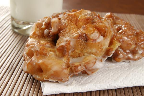 Make fruit fritters in no time with this simple recipe.data-pin-do=