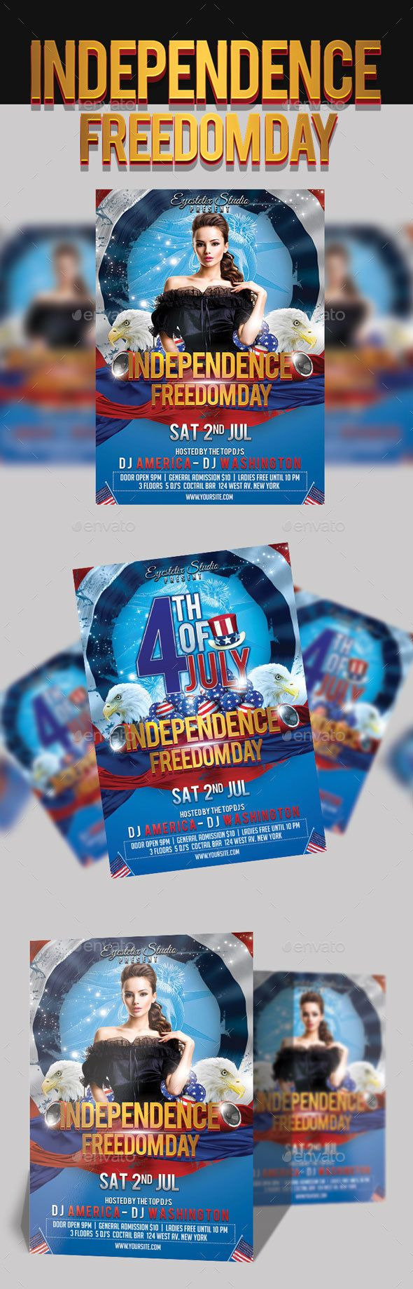 4th July Independence Freedom Day - Holidays Events