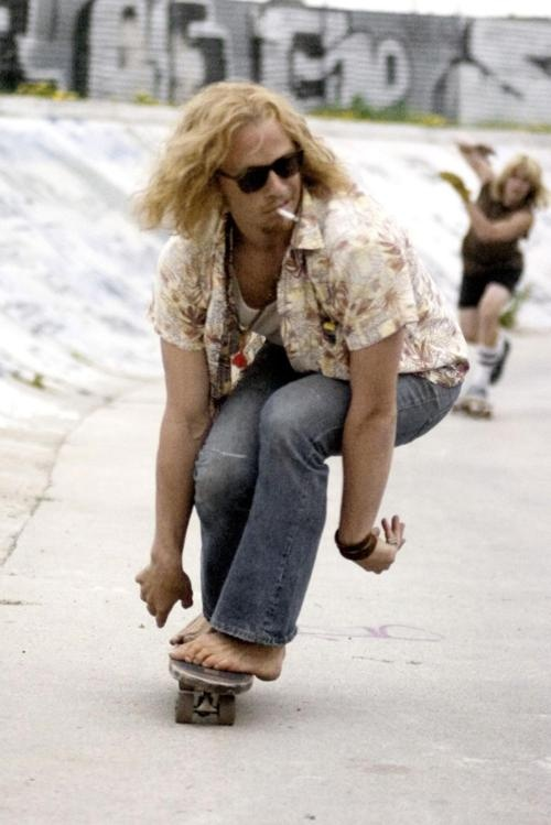 Skip of lords of dogtown, Heath Ledger was perfection.