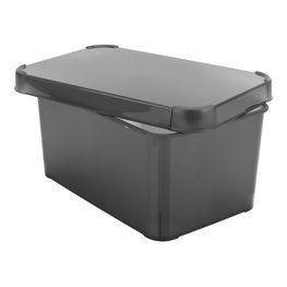 Säilytyslaatikko TONY L19xP29xK13 musta
