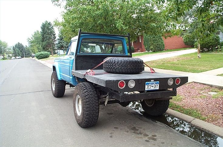 How to Build a Flat Bed for Pickup Truck