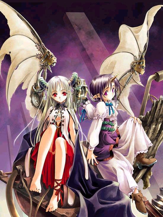 Anime demon girls Anime Illustrations Pinterest
