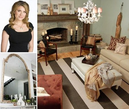 Personalize Your Space With 8 Tips From Genevieve Gorder Genevieve Gorder House And Living Rooms