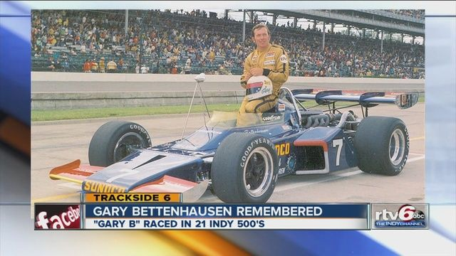 Indy 500 veteran Gary Bettenhausen dead at 72