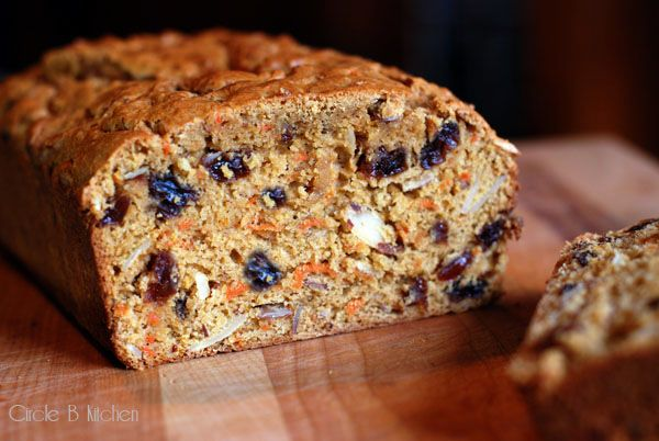 Brown Sugar Carrot Bread by circle-b-kitchen #Carrot_Bread #circle_b_kitchen