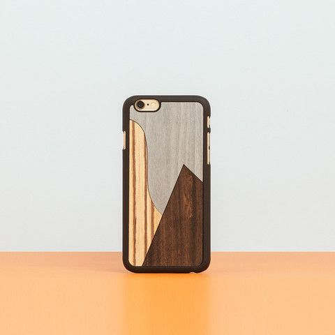 "Cover iPhone ""Patchwork Ebony"""