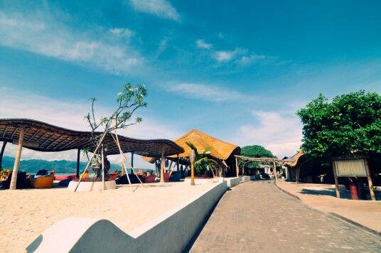 Gili Trawangan is the most popular among the three Gili Islands, Lombok, Indonesia, 130609